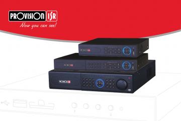 מערכות הקלטה Provision DVR